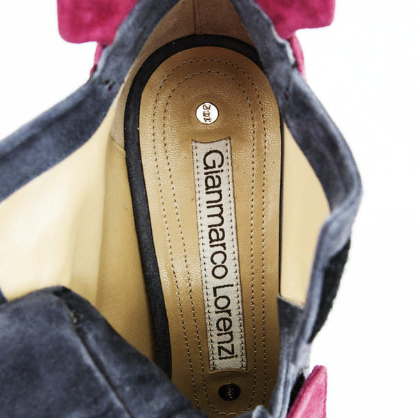 Gianmarco Lorenzi leather insoles and rubber bottoms