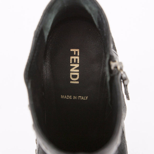 Fendi ankle booties made in Italy