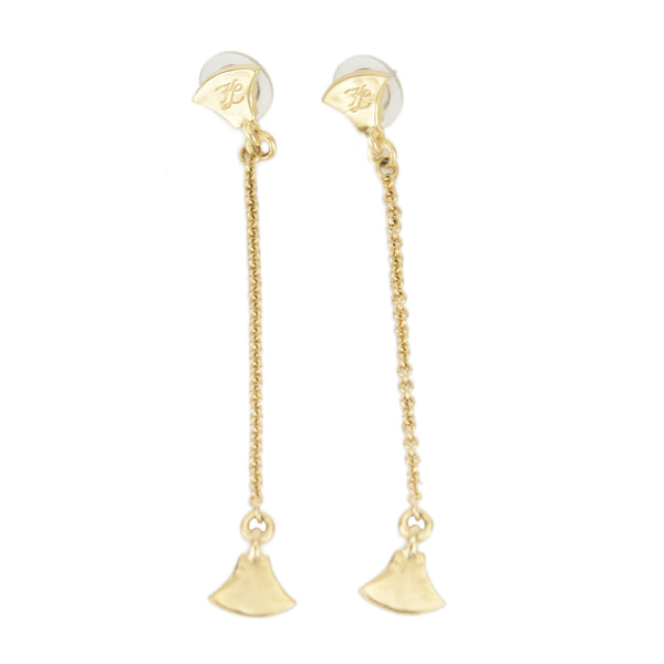 Karl Lagerfeld | Goldtone Dangling Earrings