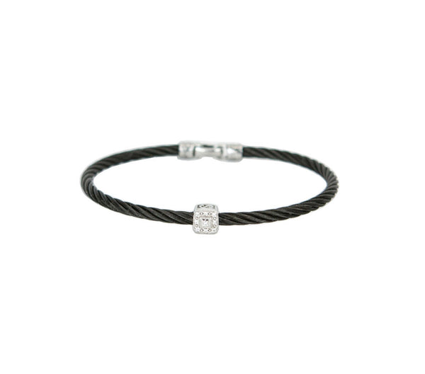 Charriol | Diamond Celtic Noir Bracelet