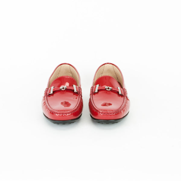 Tods | Red Patent Leather Loafers
