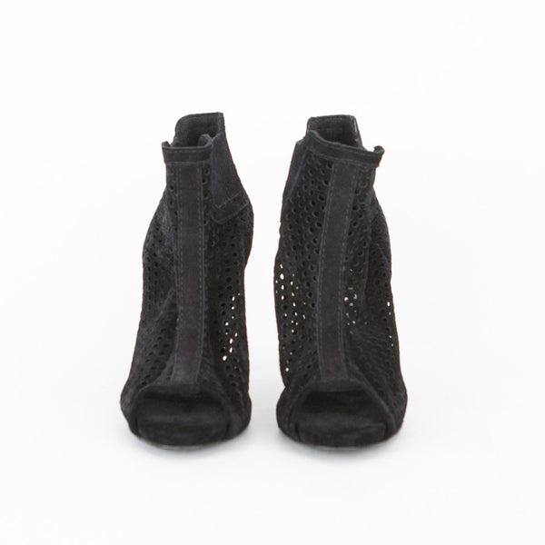 Pedro Garcia | Black Suede Ankle Booties