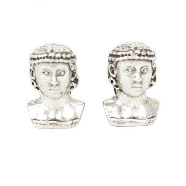 Rebecca Collins | Female Figurine Face Earrings