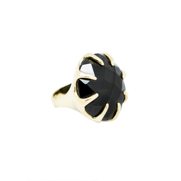 Ippolita | Onyx and Gold Cocktail Ring