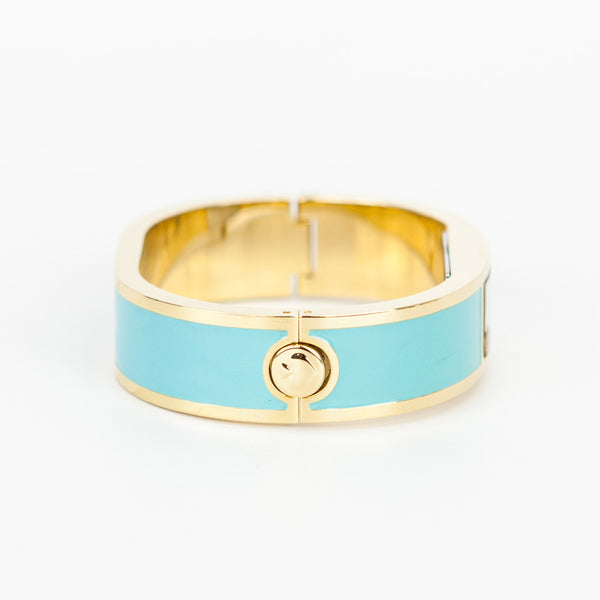Kate Spade Dive In bangle watch hinged closure