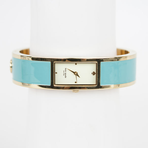 Kate Spade Dive In carousal torquoise bangle watch