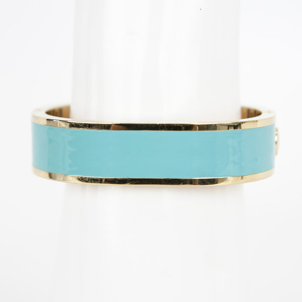 Kate Spade Dive In turquoise and gold bangle watch