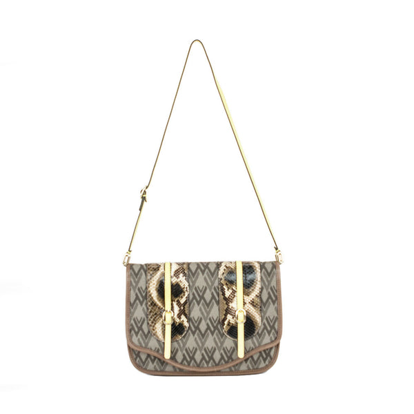 Valentino | Taupe Brown Handbag
