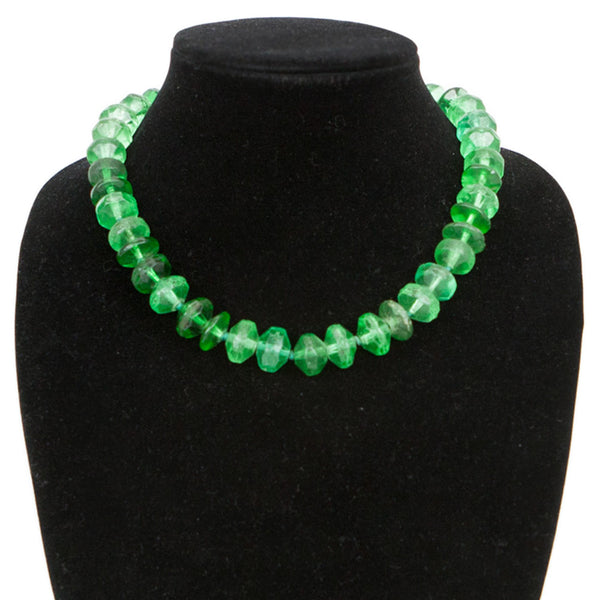 Rebecca Collins | Emerald Green Necklace