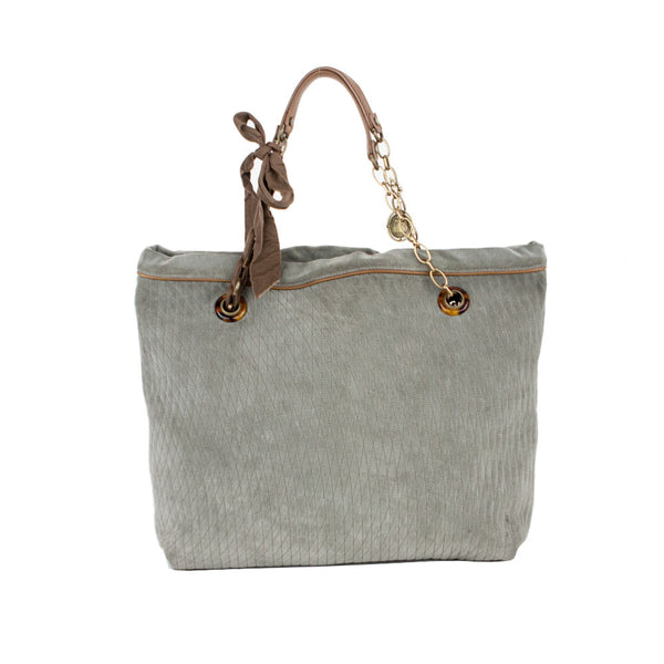 Lanvin | Gray Suede Leather Tote bag
