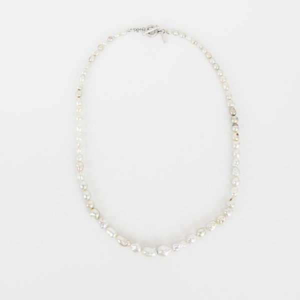 Matthew Trent baroque pearl necklace
