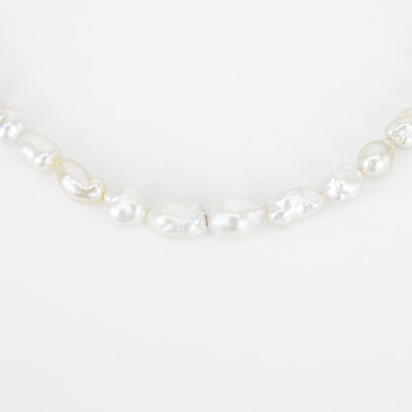 Matthew Trent multi color baroque pearl necklace