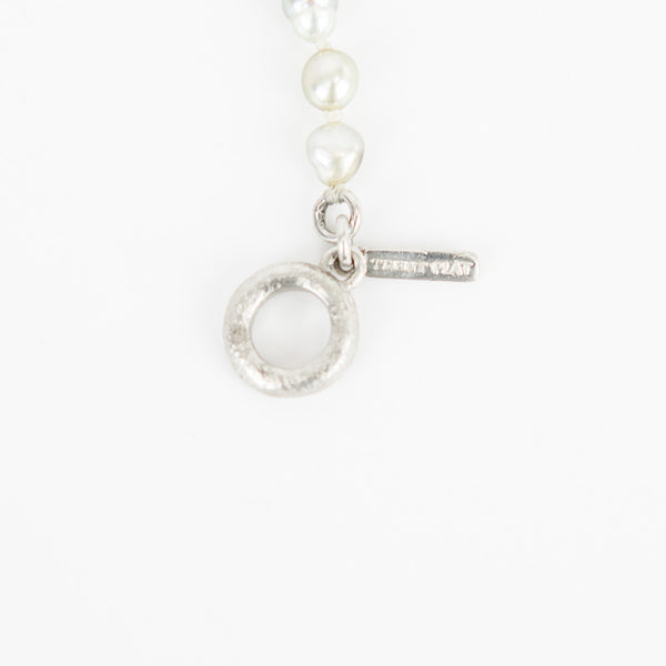Matthew Trent baroque pearl necklace tag
