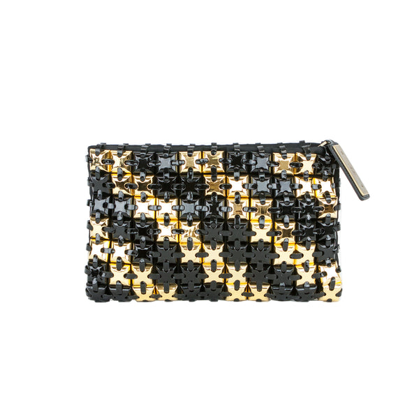 Roger Vivier | Black And Gold Clutch