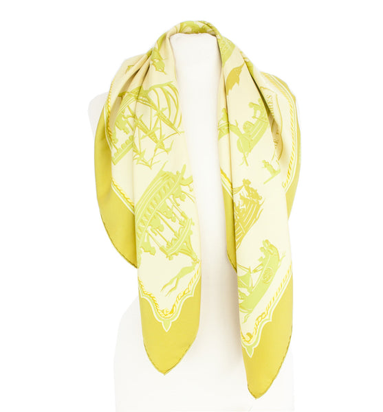 Hermes | Theatre D'Ombres Silk Scarf