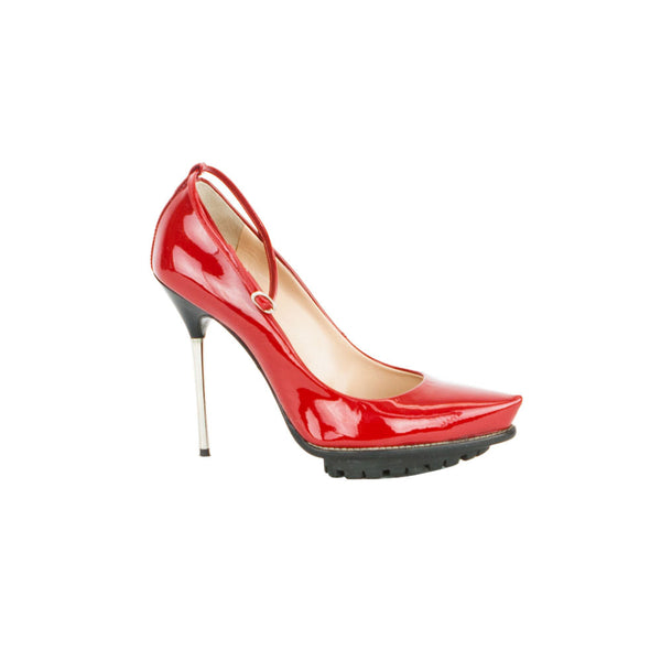 Giuseppe | Red Patent Leather High Heels