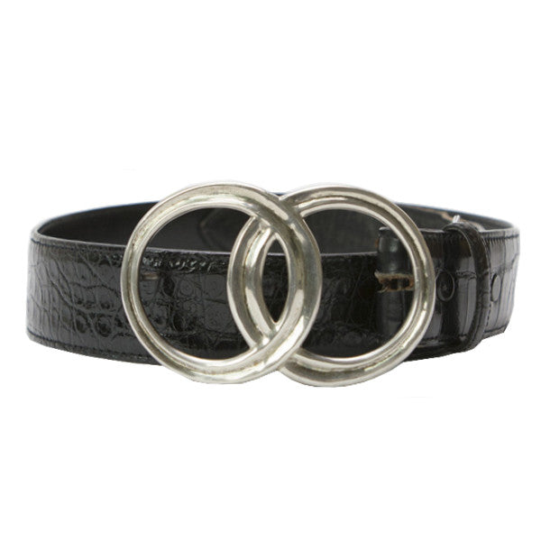 Brenda Schoenfeld | Alligator Leather Belt
