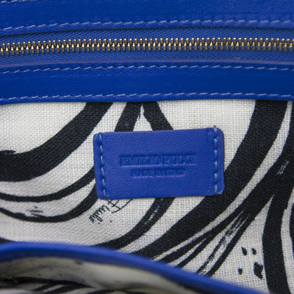 Emilio Pucci Handbag with leather label tag