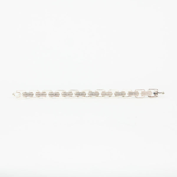 David Yurman meteorite link bracelet back design