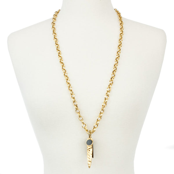 Taylor & Tessier | Brass Necklace