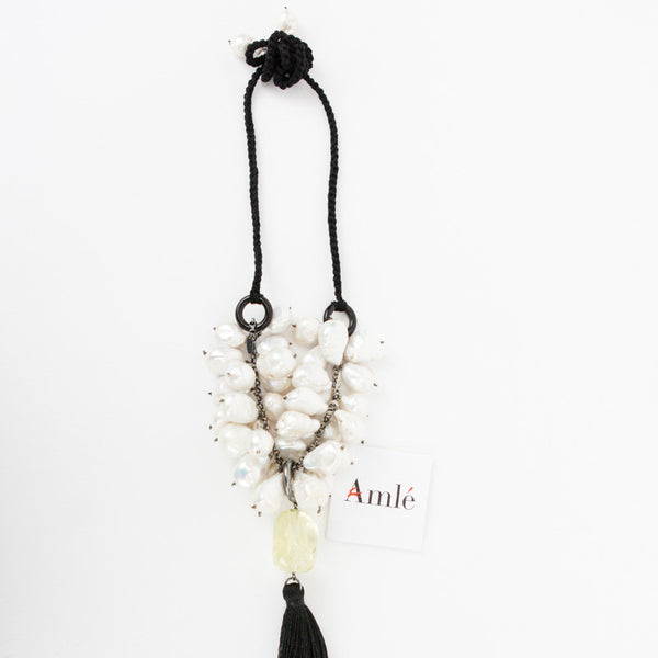 Amle | Baroque Pearl Necklace