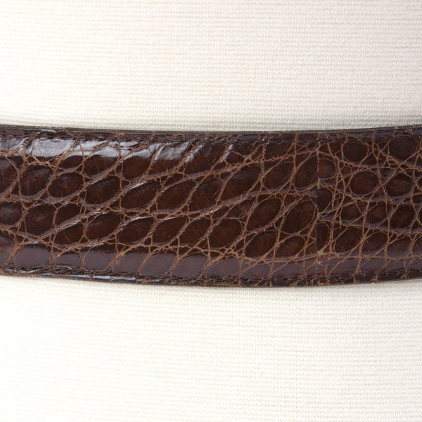Patricia Von Musulin Brown Leather Belt