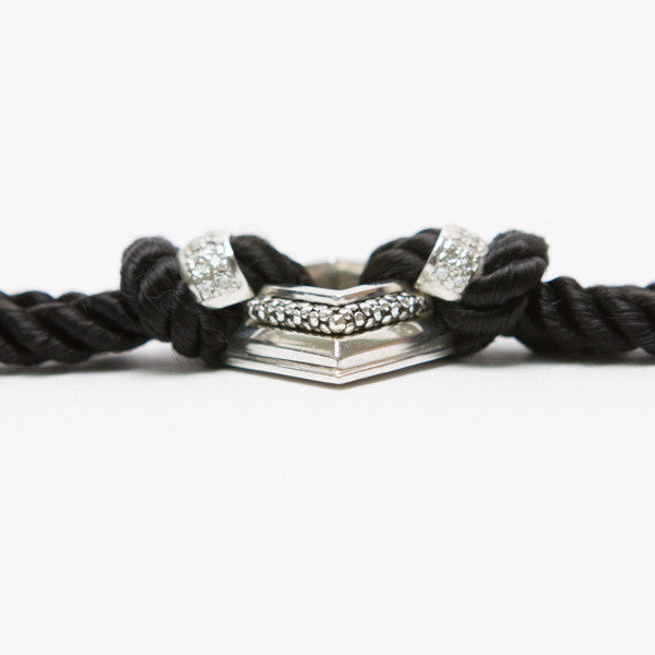 Michael Dawkins Bracelet With Diamond Center