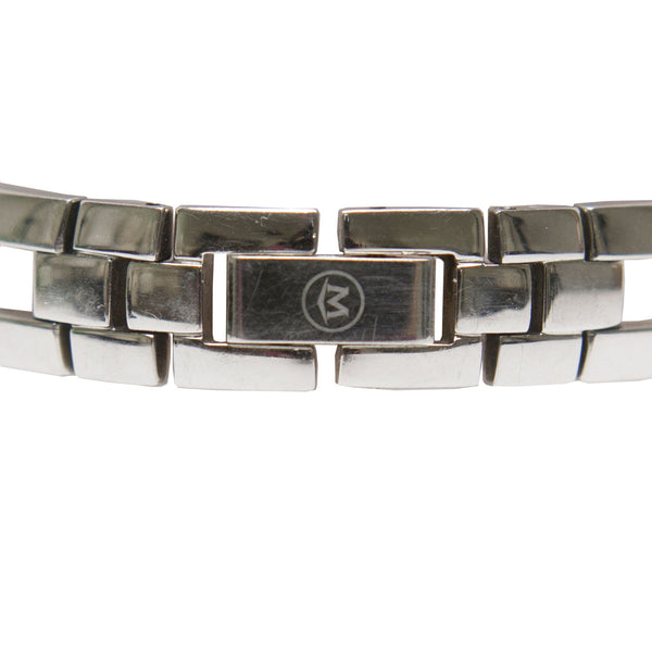 Movado Amorosa Stainless Steel Bangle Watch With Designer Logo