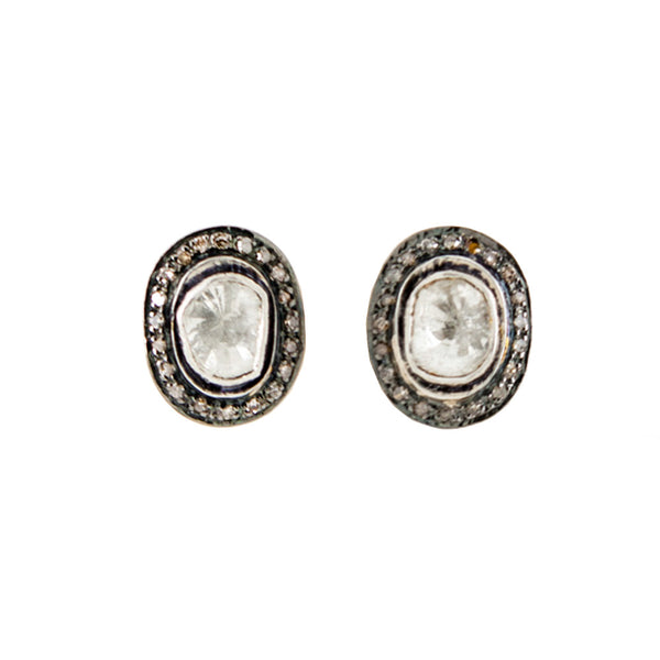 Indian Diamond Stud Earrings