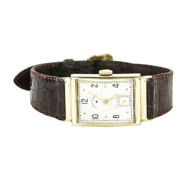 Lord Elgin | 14k Gold Brown Watch