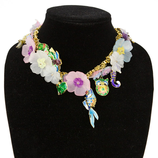 Erickson Beamon | Colorful Charm Necklace