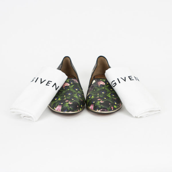 Givenchy multi- color loafers with dust bags