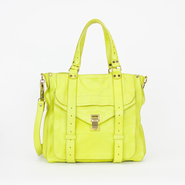 Proenza Schouler | Lime Messenger Crossbody Bag