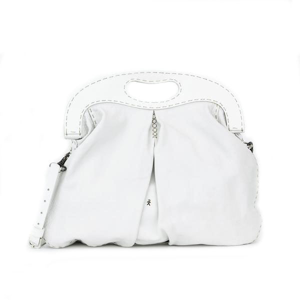 Henry Beguelin | White Leather Tote