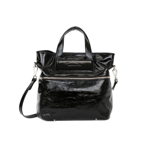 Sigerson Morrison |  Black Patent Leather Tote