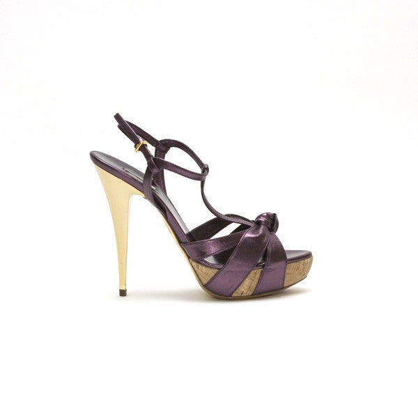 Miu Miu Purple Leather High Heel