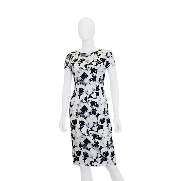 Carolina Herrera | Pansy Print Dress