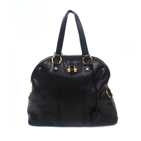 YSL | Black Leather Muse Handbag