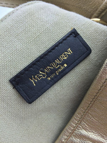 YSL Gold Bucket Bag Good Condition Resale