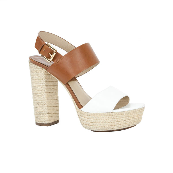 Michael Kors | Two- Tone Espadrille High Heel Sandals