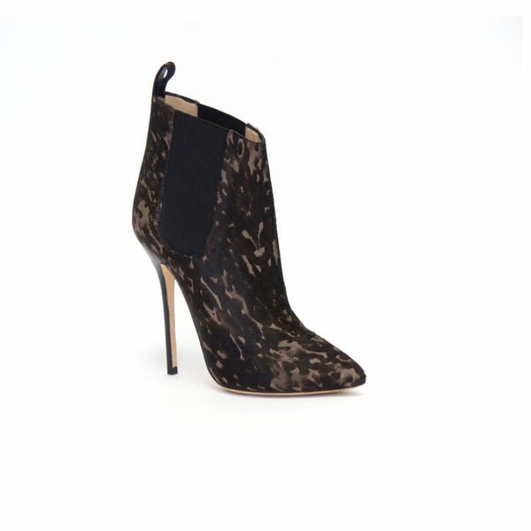 Oscar De La Renta Pony Hair Booties