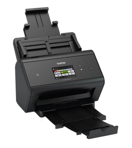 Brother ADS-3600W scanner 600 x 600 DPI ADF scanner Black A3 - Conbrio Print