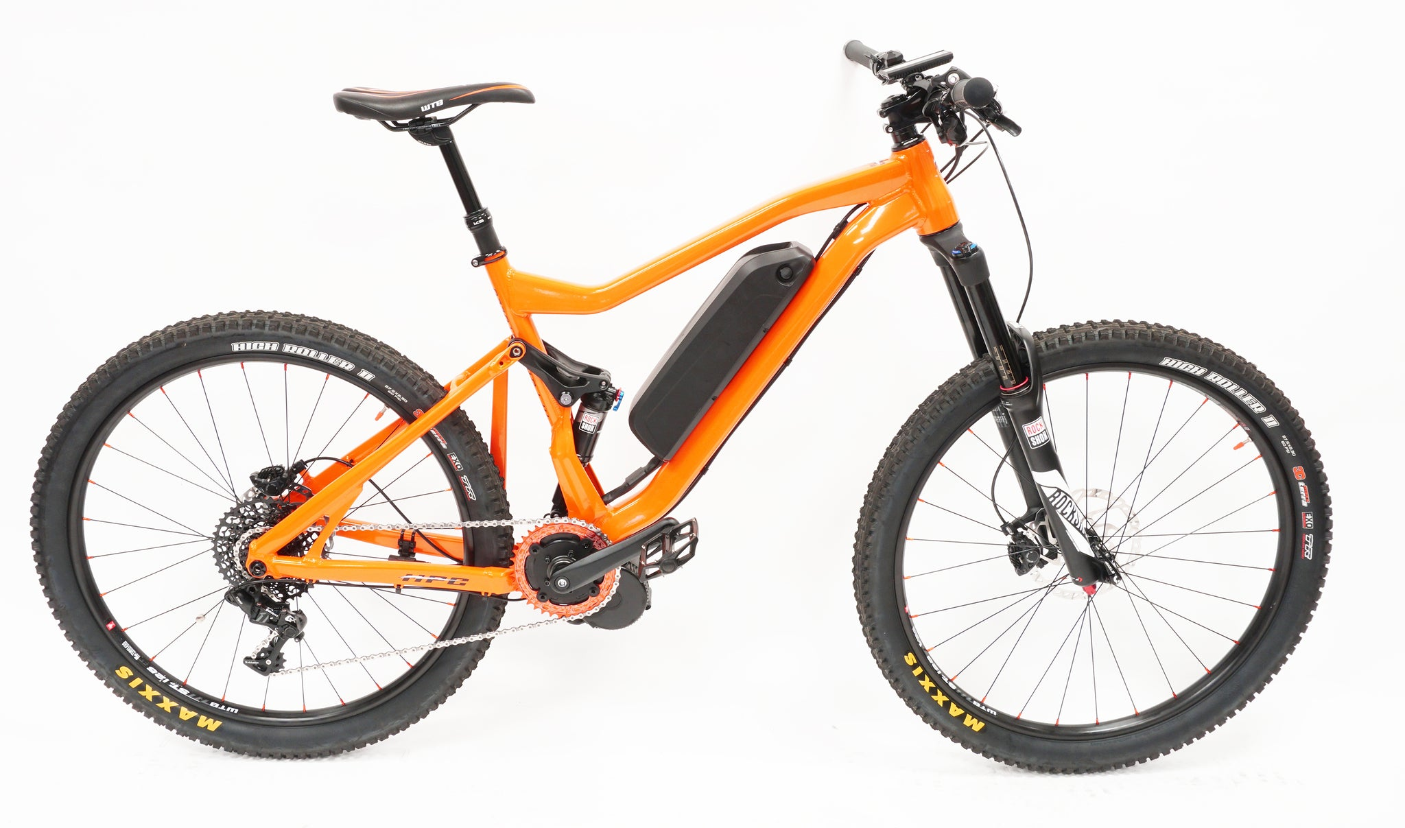 HPC Enduro Orange SideView