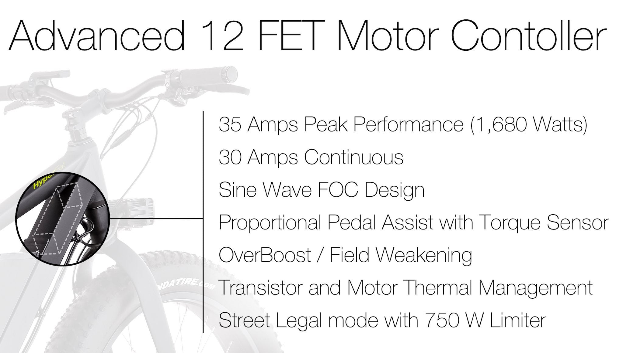 Advanced 12 FET Motor Controller