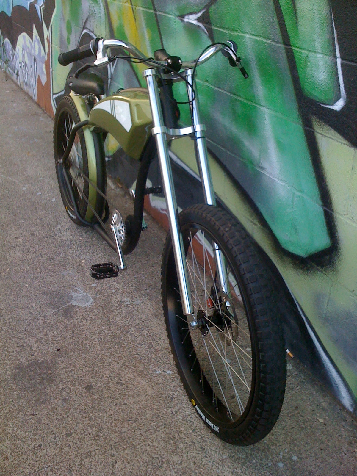 37df97bce01 The Chopper Electric Street Bike 2 seen from above