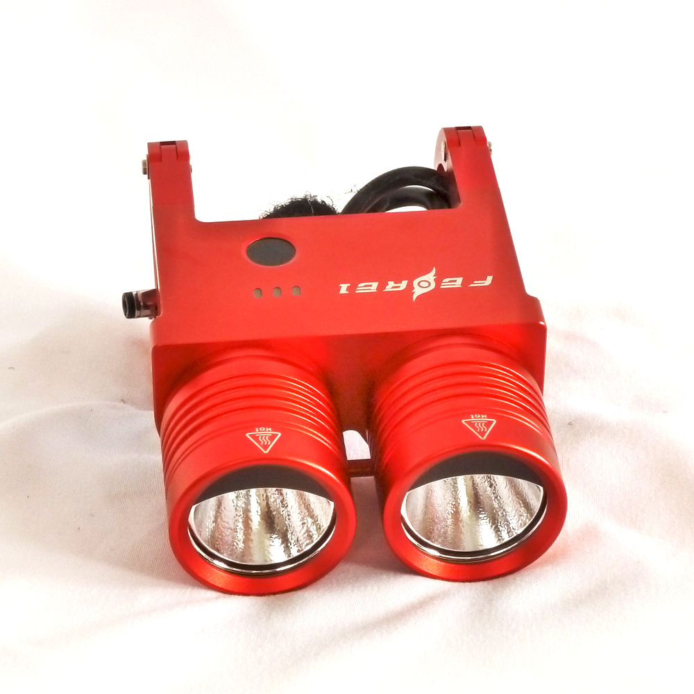 Red Ferei BL200 High Intensity LED Headlight by Cree