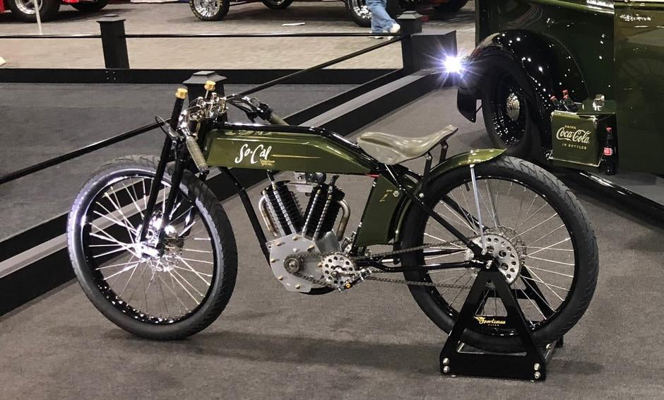 Vintage Mid-Drive Electric Indian