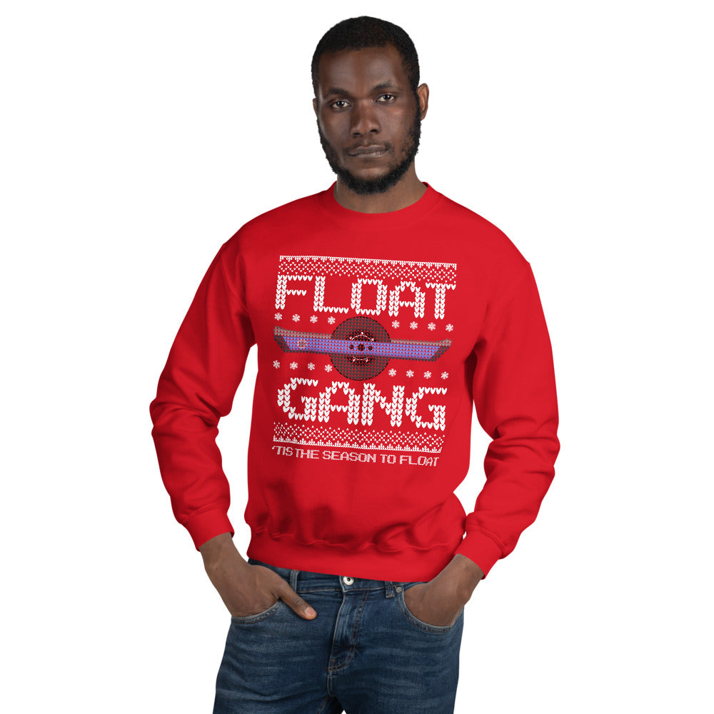 Ugly Sweater Float Gang Christmas Sweater