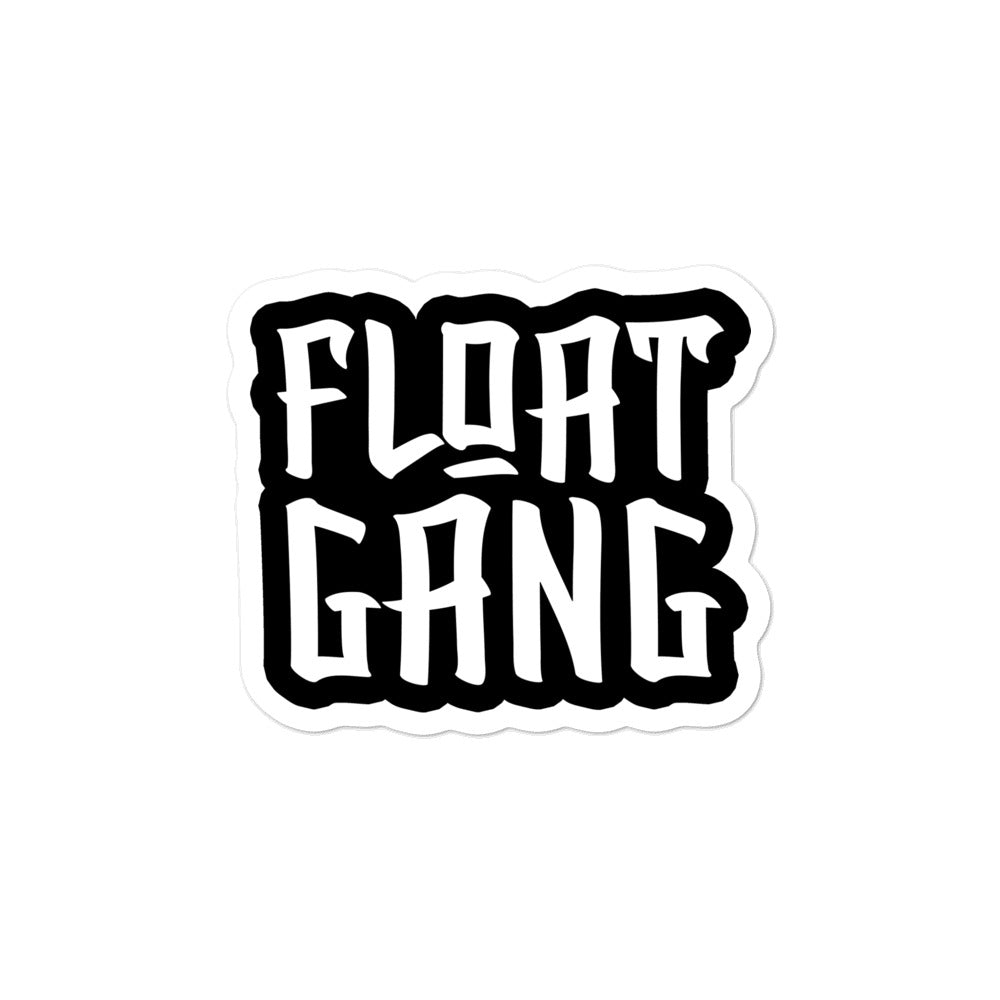 Float Gang Logo Sticker
