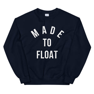 Onewheel Made To Float Crewneck Sweater